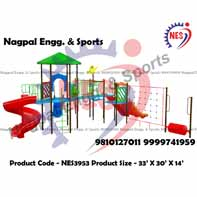 Multiplay playground Swing System